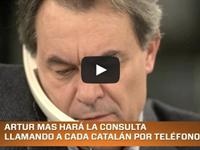 Artur Mas y la consulta Catalana del 9 N