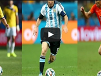 El mejor del Mundial … ¿James, Messi o Robben?