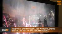 Niño va al baño y condena a sus soldados del Call of Duty a una muerte segura