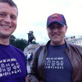 Dos caballeros rusos en San Petersburgo
